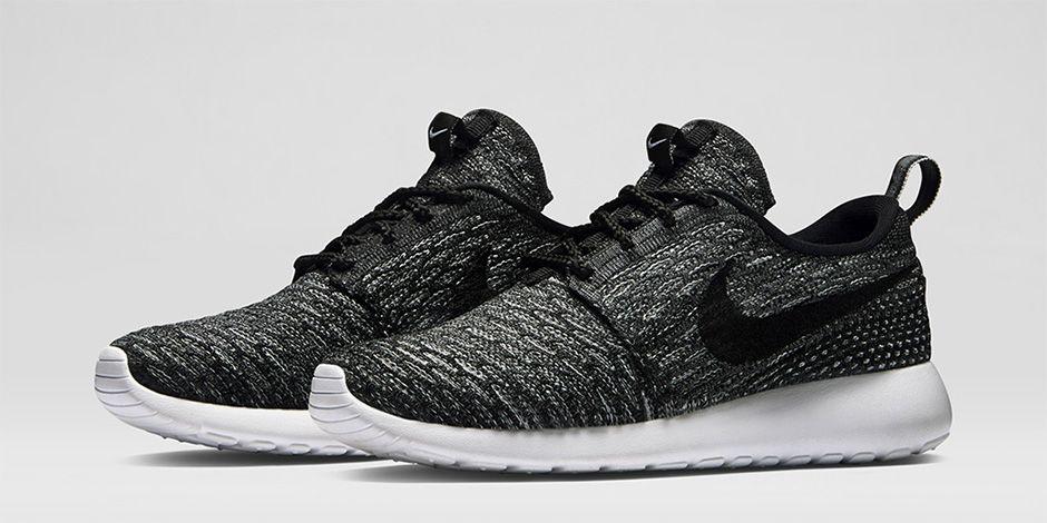 nike roshe flyknit wolf grey, Nike 'Flyknit Roshe Run