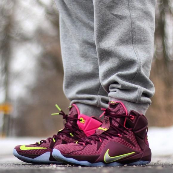 ... Nike LeBron 12 'Double Helix' – On-Feet Look