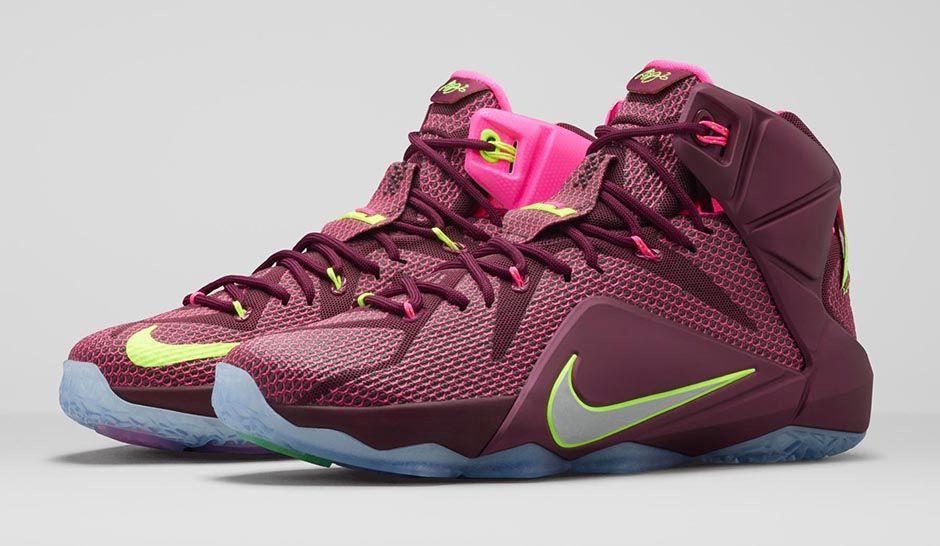 Girls Nike Lebron 12 Girl Lebron Shoes  a3c26d832