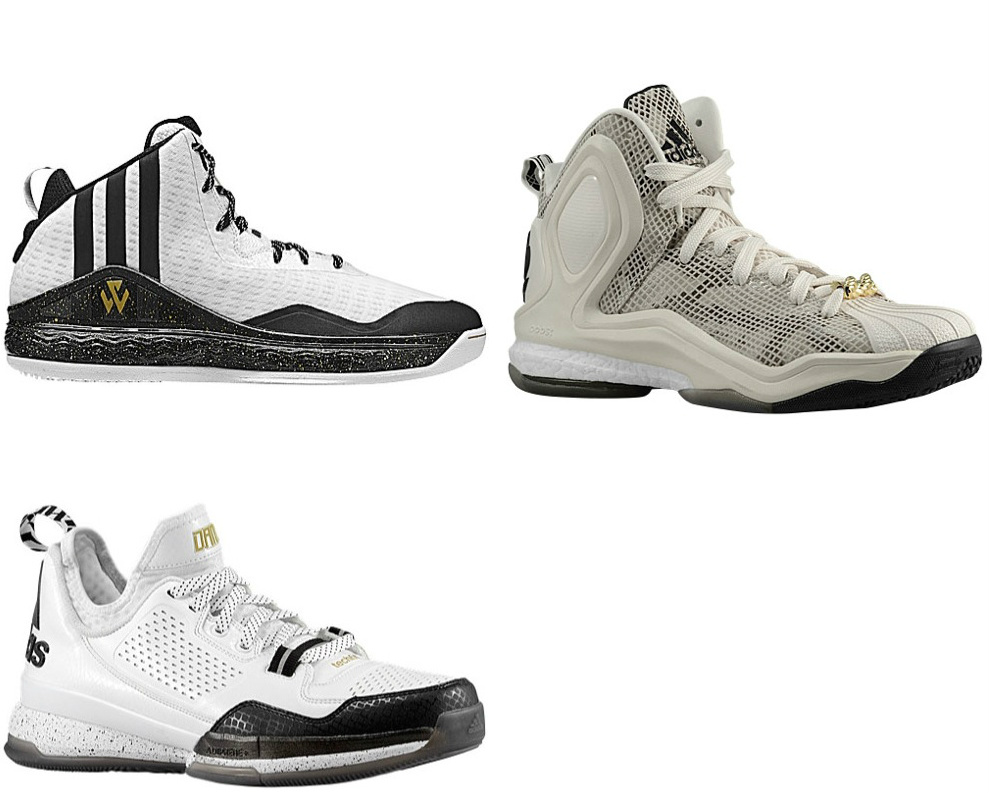 adidas All-Star Pack (J Wall 1, D Lillard 1, D Rose 5 ...