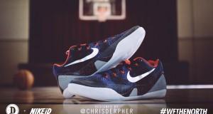 DeMar DeRozan Wore @chrisderpher Designed Nike Kobe 9 EM iD