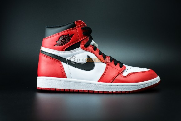 brand new d3b40 406ce Air Jordan 1 Retro 'Chicago' Remastered – Another Look ...