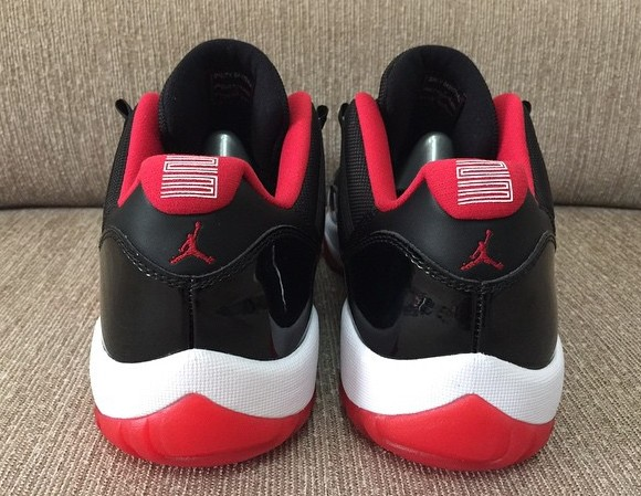 Air Jordan 11 Rojo Y Negro Bajo Top hlxIpRvrJ