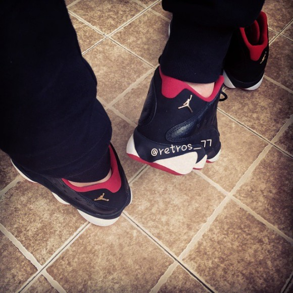promo code 6e62a eab51 Air Jordan 13 Retro Low 'Playoff' - Detailed Look + On-Foot ...