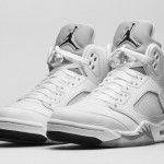 Air Jordan 5 Retro White Metallic Silver - Official Look + Release Info 1