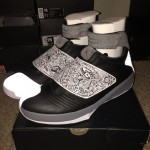 Air Jordan XX (20) Retro Black White - Cool Grey 1