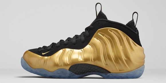 Nike Air Foamposite One Metallic Gold Available Now