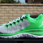 Jordan Flight Runner 2 Light Green: Pure Platinum 9