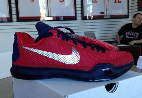 Nike Kobe X (10) 'Findlay Prep' PE – First Look
