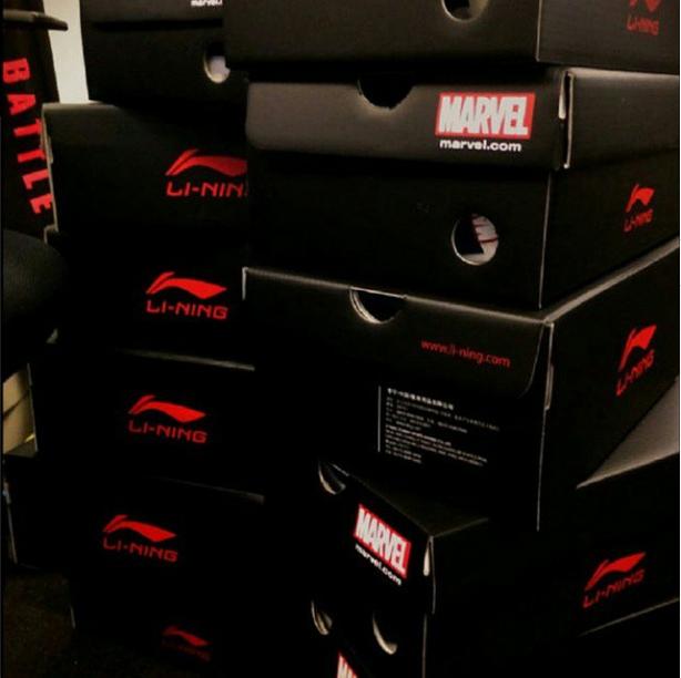 Li-Ning x Marvel Box