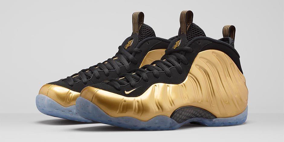 Nike Air Foamposite One 'Metallic Gold' ...
