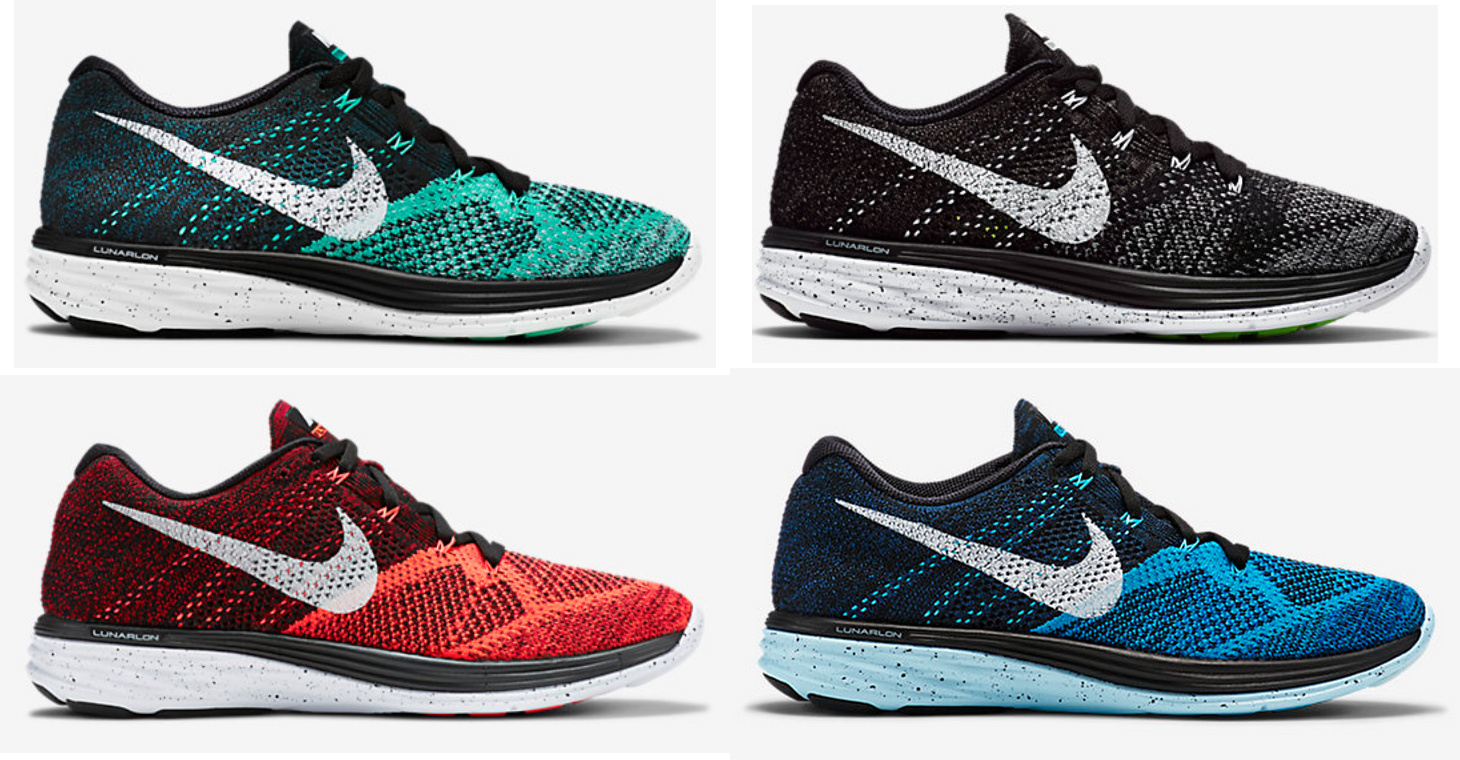 nike flyknit lunar 3 new colorways available now weartesters. Black Bedroom Furniture Sets. Home Design Ideas