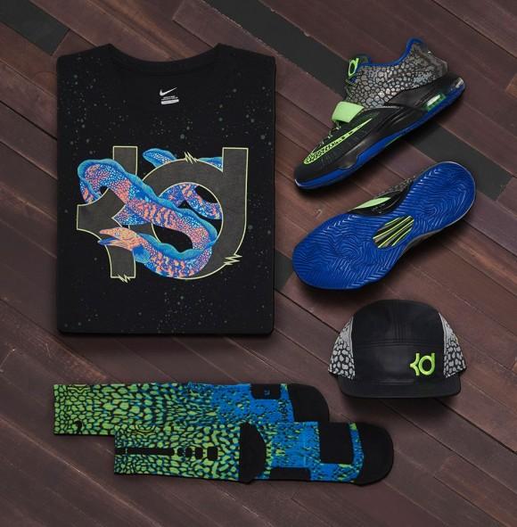 the best attitude 378e6 e1d34 Nike KD 7  Electric Eel  6