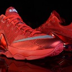 Nike LeBron 12 Low 'All-Red'