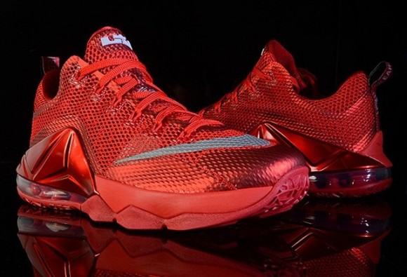 new concept 78cbd f60be Nike LeBron 12 Low  All-Red  - WearTesters