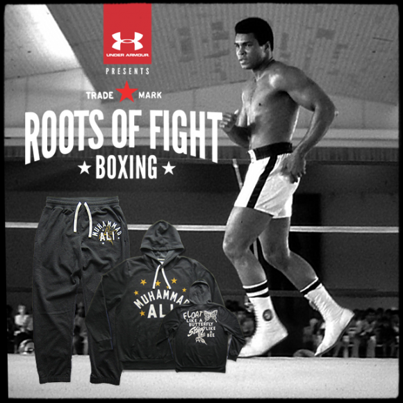Under Armour Presents Roots of Fight Ali Collection