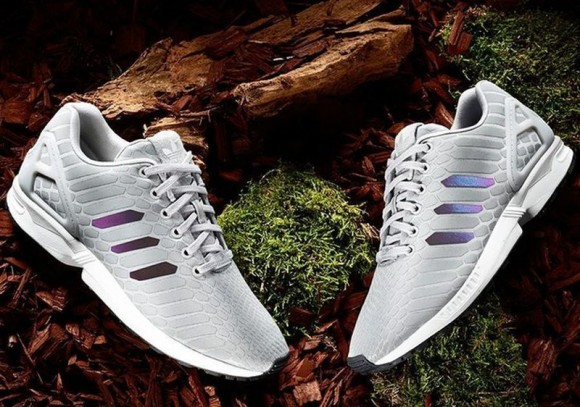 adidas ZX FLUX PLUS Solid Grey/White Hype DC