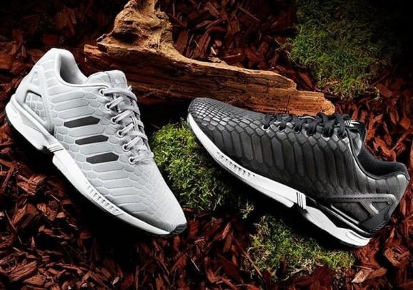 Adidas Zx Flux Grey Reflective