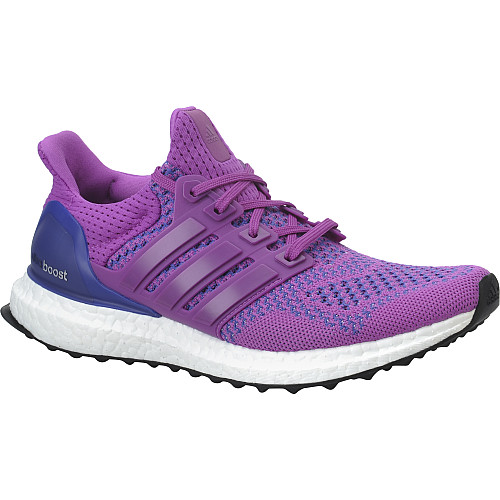 Adidas Ultra Boost Women S Running Shoes Black And Purple