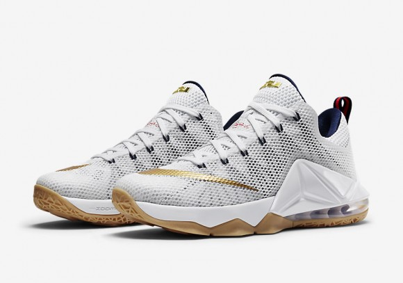 huge discount a1a06 26238 Nike LeBron 12 Low 'USA' - Available Now - WearTesters