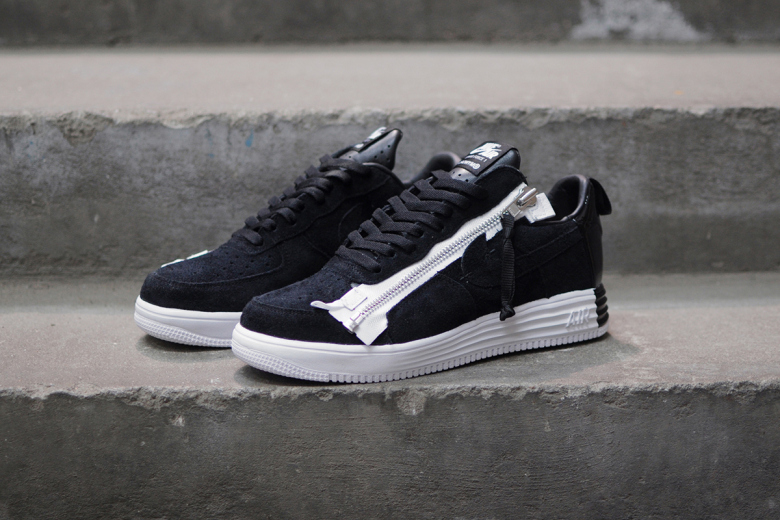 nike lab air force one low to help board shoe; acronym x nikelab lunar  force 1 sp lateral side