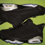 Air Jordan 6 Retro Low Black Metallic Silver 1