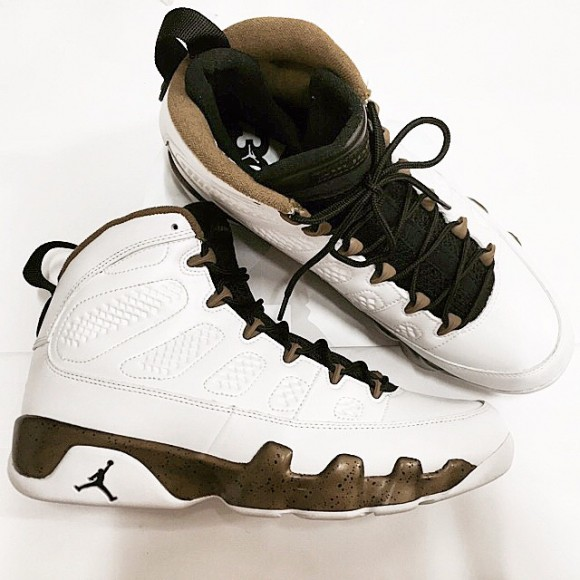 Air jordan 9 Retro 'Military Green'