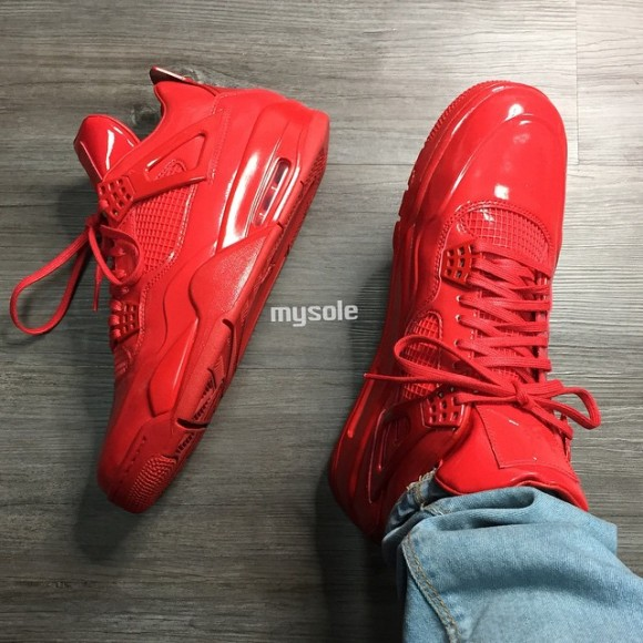 timeless design ef7d8 b373d The All-Red Everything Trend Hits the Air Jordan 11Lab4 ...