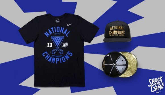 Celebrate with Duke in this Championship Collection from Nike - Thumbnail