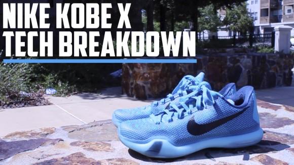 Kobe X - Tech Breakdown Thumbnail