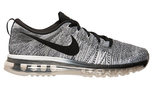 womens nike flynit air max all grey