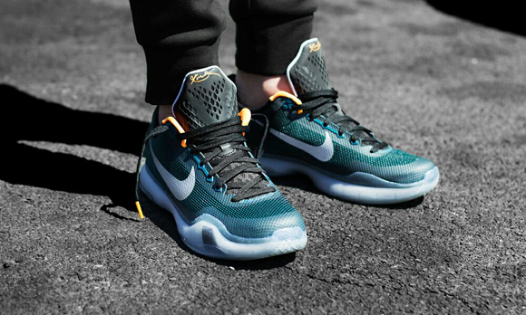 differently 1ff1a f3821 Nike Kobe X 'Flight' On-Foot Look - WearTesters