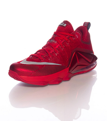 timeless design db5b3 231db Nike LeBron 12 Low 'All-Red' - Available Now Below Retail ...