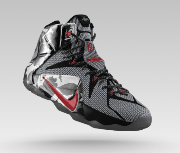 Nike LeBron 12 iD Goes Floral-1