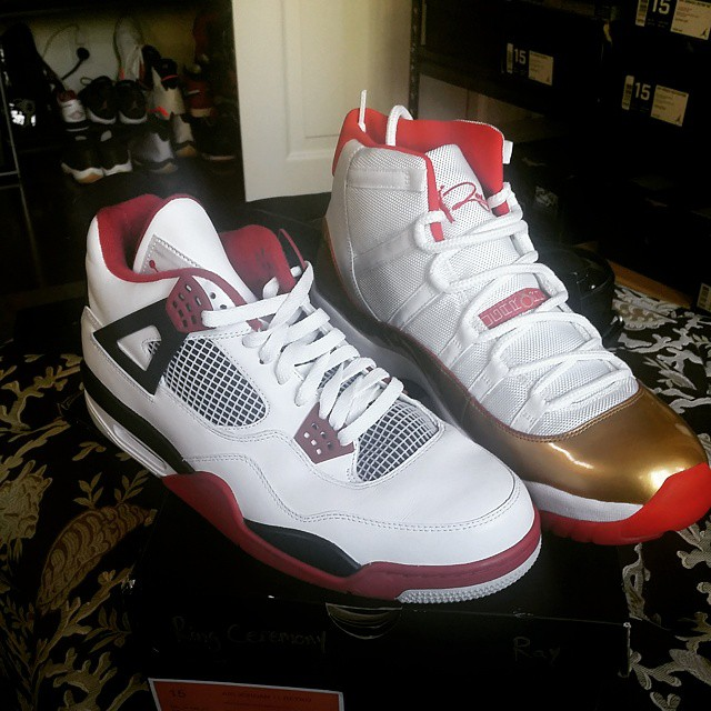 Ray Allens Vast Sneaker Collection With Plenty Of Air Jordans