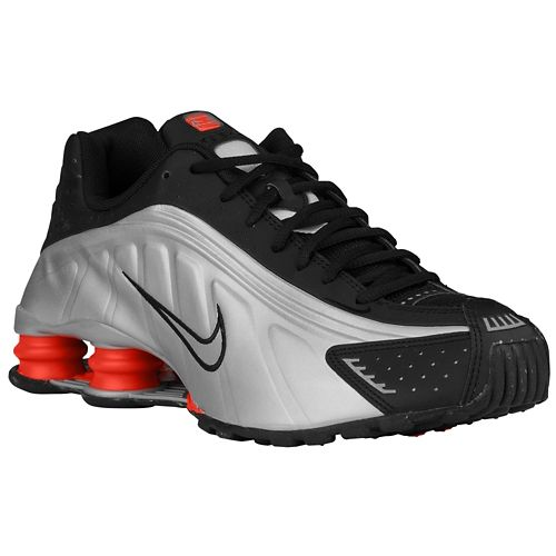 Nike Air Shox Current Mens Shoes Gray Blue
