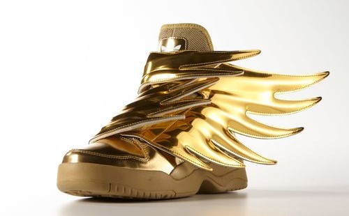 Adidas Originals Js Wings 3 0 Gold Metallic Weartesters