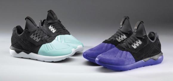 adidas Tubular Runner Neoprene Deboss Sneakers Black Zando