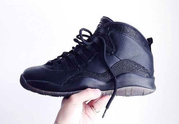 air jordan 10 ovo black release date