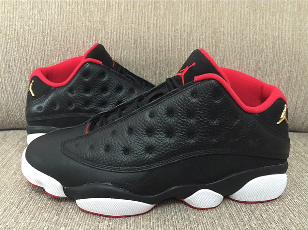 factory price c7e23 a1f5a Air Jordan 13 Low Black/Red - Another Look - WearTesters
