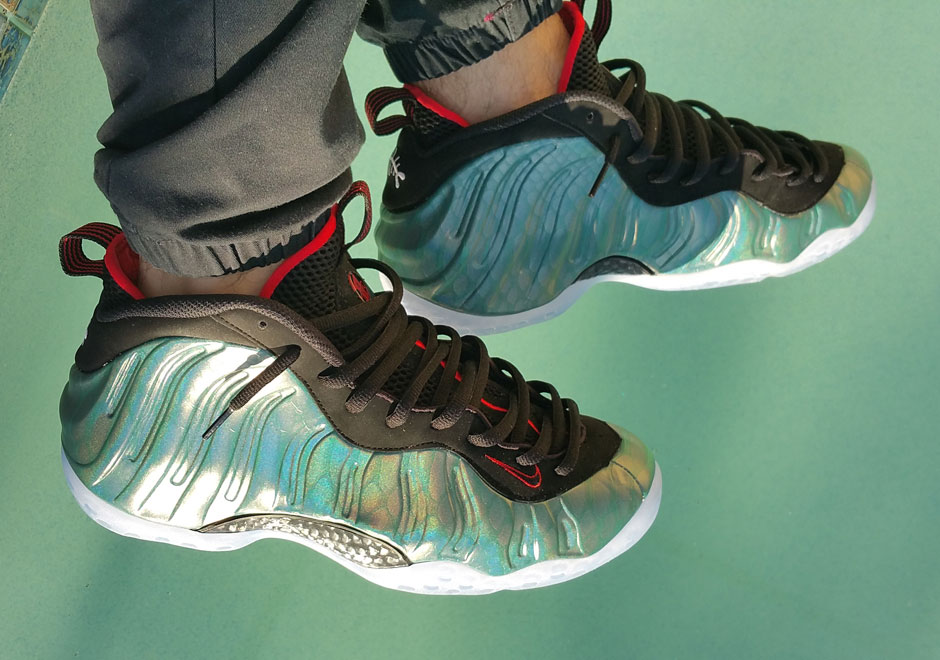 nike foamposite one 39 gone fishing 39 new images weartesters