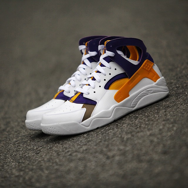 buy popular c51f4 4b243 ... nike air flight huarache kobe bryant lakers white