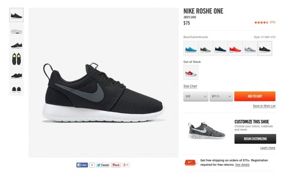 Womens Light Grey Nike Roshe Two Breathe Trainers schuh
