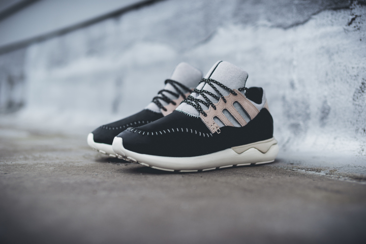 wholesale dealer d2f55 89773 Adidas Consortium Tubular Moc Runner Black Grey-white