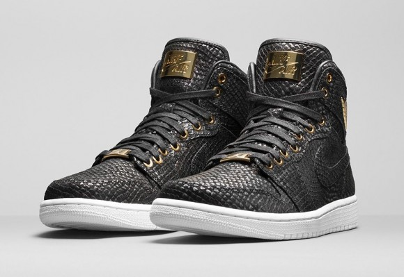 new concept a69b7 bcfd1 The Air Jordan 1 Pinnacle Features Real 24K Gold - WearTesters