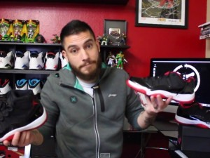 Air Jordan 11 Retro Low Black Red - Detailed Look & Review