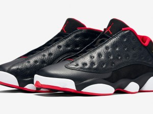 Air Jordan 13 Retro Low Black Red - Official Look + Release Info 1