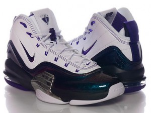 Nike Air Pippen 6 'Central Arkansas Bears' side by side