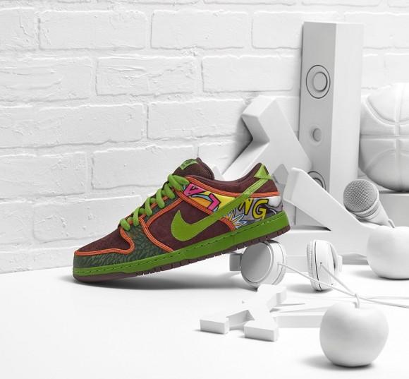 best sneakers b455d c50cb The Nike Dunk Low SB 'De La Soul' Has Restocked - WearTesters
