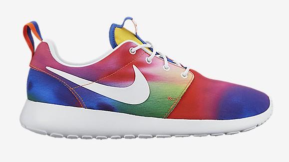 Nike Roshe One 'Rainbow Tie Dye